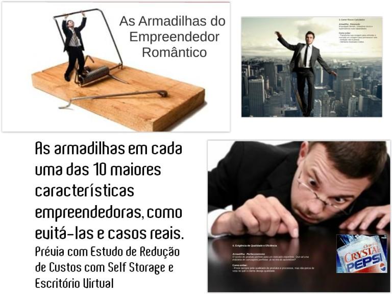 Imagem Divulgação Palestra Armadilhas Empreendedor Romântico